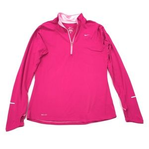 Nike   Element Bright Pink Athletic Pullover